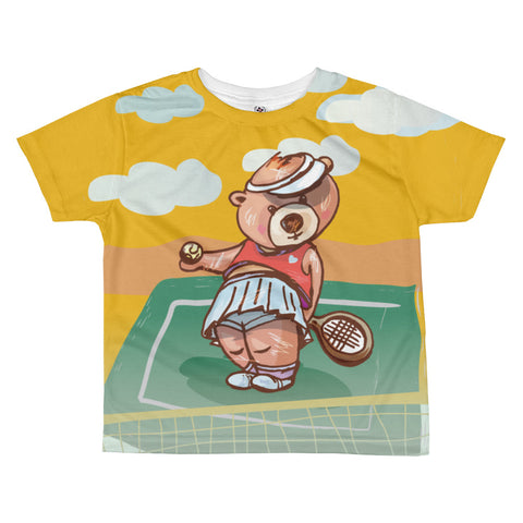 Madison Bear - Tennis All-over kids sublimation T-shirt