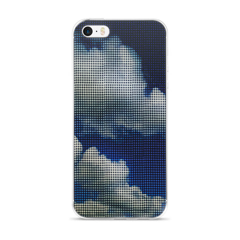 My Head is in the Clouds - Blue Sky Cell Phone Case - Fits iPhone X and Other Sizes 5-X