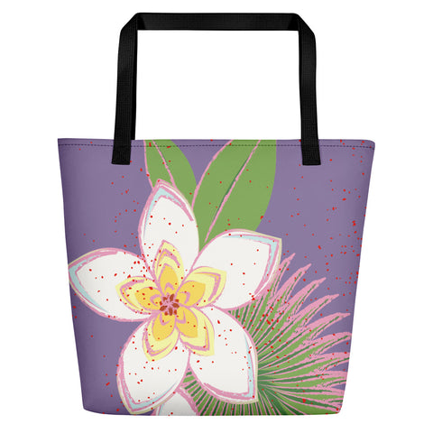 Paris METRO Couture: Tropical Beach Bag