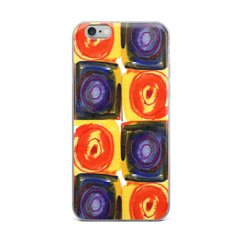 Circle in a Square Large - Cell Phone Case - Fits iPhone X and Other Sizes 5-X