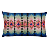 Retro Quilt Rectangular Pillow