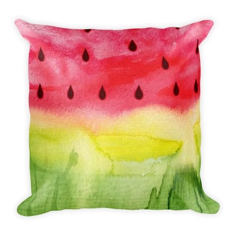 Watermelon - Square Pillow