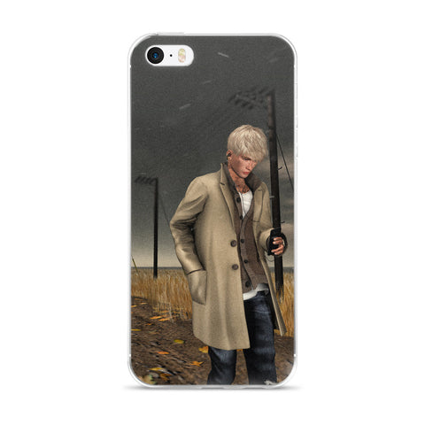 The Illustrative Art of Satus, Windy Road Cell Phone Case - Fits iPhone X and Other Sizes 5-X