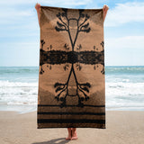 The Desert by C. Kellerher Beach Towel