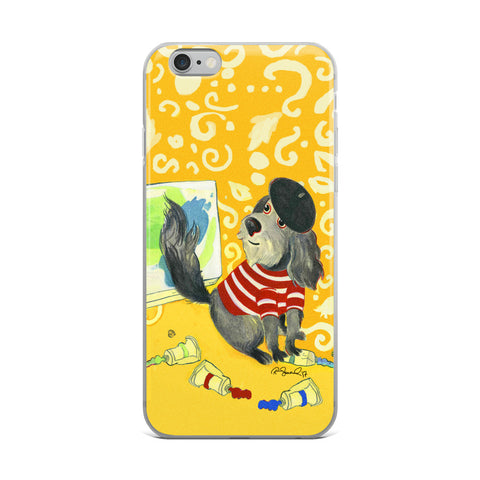 Here I Am by R.Freeland Cell Phone Case - Fits iPhone X and Other Sizes 5-X