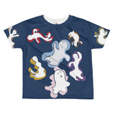 Paris METRO Couture: Many Ghosts Dance Kids T-shirt-Peony - ParisMETROCouture.com
