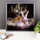 Masquerade Fairy by Amanda Magick Framed photo paper poster
