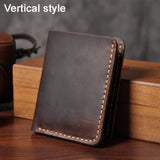 Handmade Vintage Genuine Leather Wallet