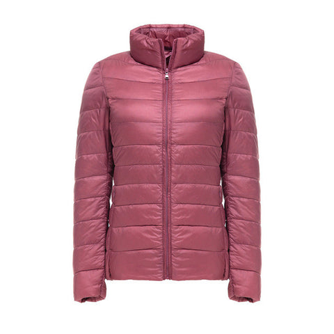 Ultra Light Women's Real Duck Down Jacket in The Best Trend Colors!