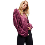 Romantique, Romantic Velvet Hoodie for this Winter's Beautiful Outings Because You Are There
