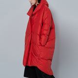 Luxury 90% Down Jacket Fine Coat Fashion Oversized for Women