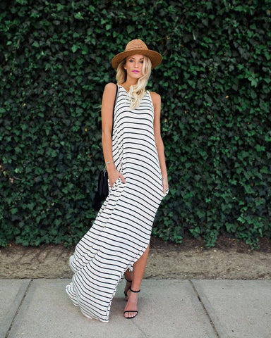 Tank A-line Stripe - Looks Great with Sneekers!