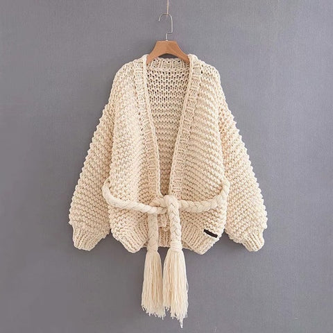 2018 Women's Winter Cardigan Beautifully Hand Knitted Sweater