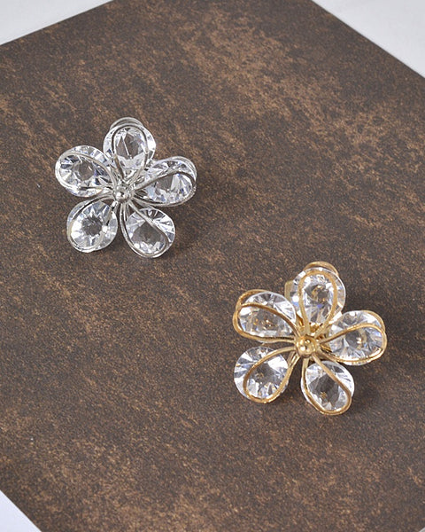 Floral Pattern 3D Adjustable Ring id.31463