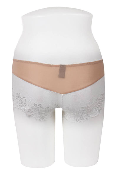 Ladies floral lace overlay boyshort