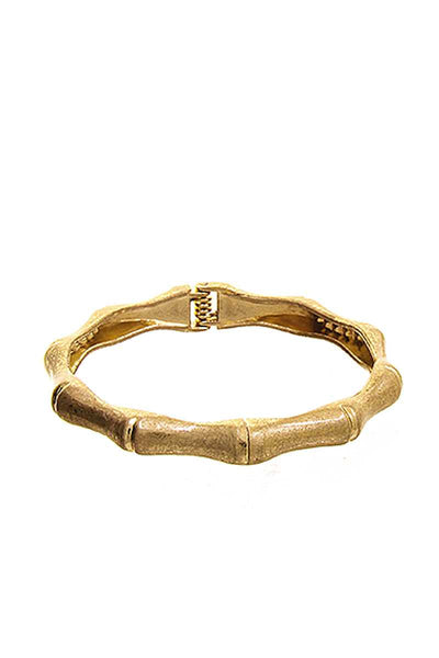 Fashion Bamboo Shope Metal Bracelet