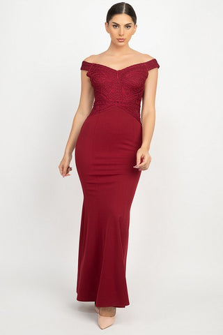 Maxi Formal Mermaid Dress