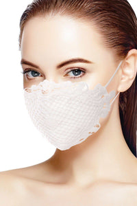 3d Lace Cotton Face Mask