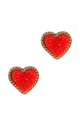 Mini Heart Stud Earring