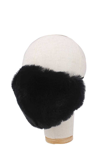 Fashion Faux Fur Face Mask