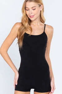 Cami Cotton Jersey Mini Romper