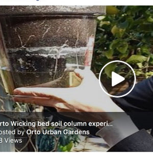 Wicking soil column experiment