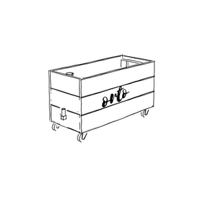 ORTO Self Watering Planter Box 90 x 42 x 54cm