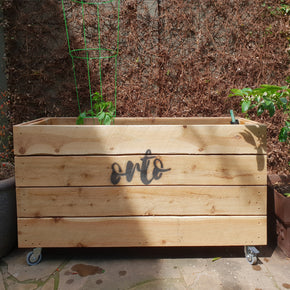 ORTO Self Watering Planter Box 131 x 42 x 69cm