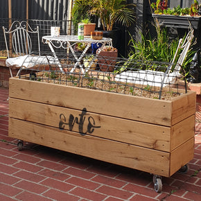 ORTO Self Watering Planter Box 120 x 42 x 54cm