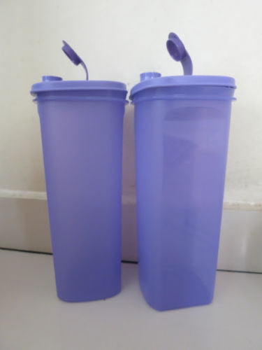 Tupperware Fridge & Freezer Fridge Water Bottle 2.0L in Purple - set of 2