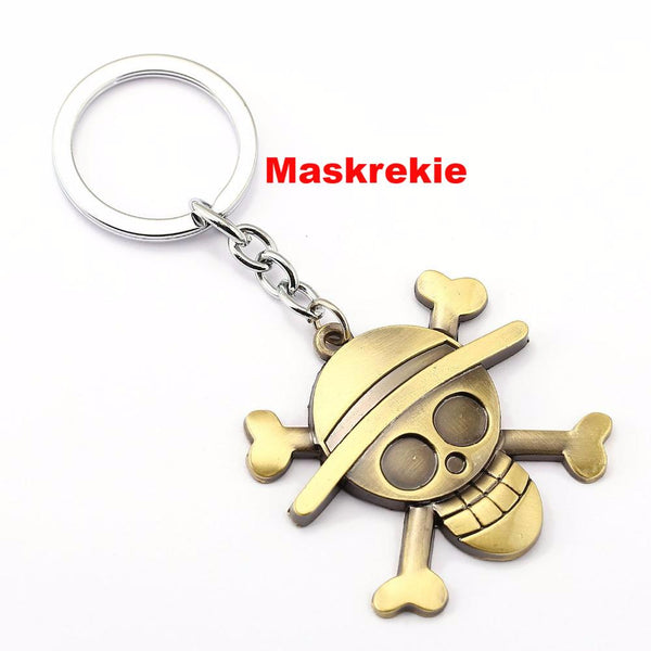 ONE PIECE Luffy Key Chain  Key Rings
