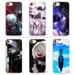 APPLE iPhone Tokyo Ghouls 6 6s 7 Plus Hard Transparent Phone Case Cover