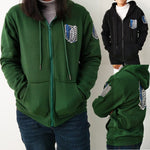 Attack on Titan Hoodies Sweatshirts Coat Hoodies Cosplay Costume
