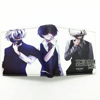 Tokyo Ghoul With Zipper Coin Pocket 8 Card Holder Wallet Purse