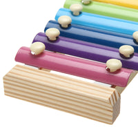 Montessori 8-Note Wooden Xylophone Music Instrument Early Education Musical Toys  for Children Kids