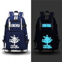 One Piece Luffy Cosplay Printing Laptop Bags Backpack