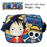 One Piece SKULL Head Pirates of Hearts Shoulder Bag
