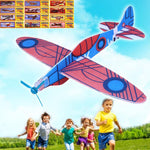 12Pcs DIY Flying Glider Planes Foam Aeroplane for Children Kids
