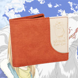 Natsume Yuujinchou Cat Teacher Short  Wallet Purse