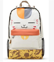 Natsume Yuujinchou Cat Face Anime Backpack Bag
