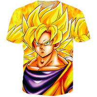 Dragon Ball Z Gorgeous Casual Cosplay Tee T-Shirt