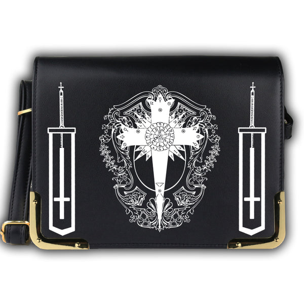 D.Gray-man Allen Walker Cosplay Bag Crossbody Bag Men Messenger Bags
