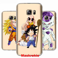 SAMSUNG Galaxy Note 8 S8 Plus Grand Prime Dragon Ball Goku Soft TPU Silicone Phone Case Cover For