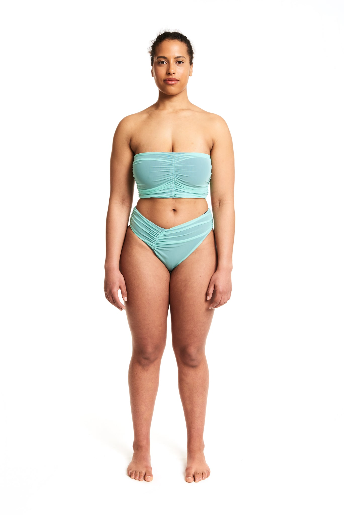 MESH DELREY BOTTOM - MINT