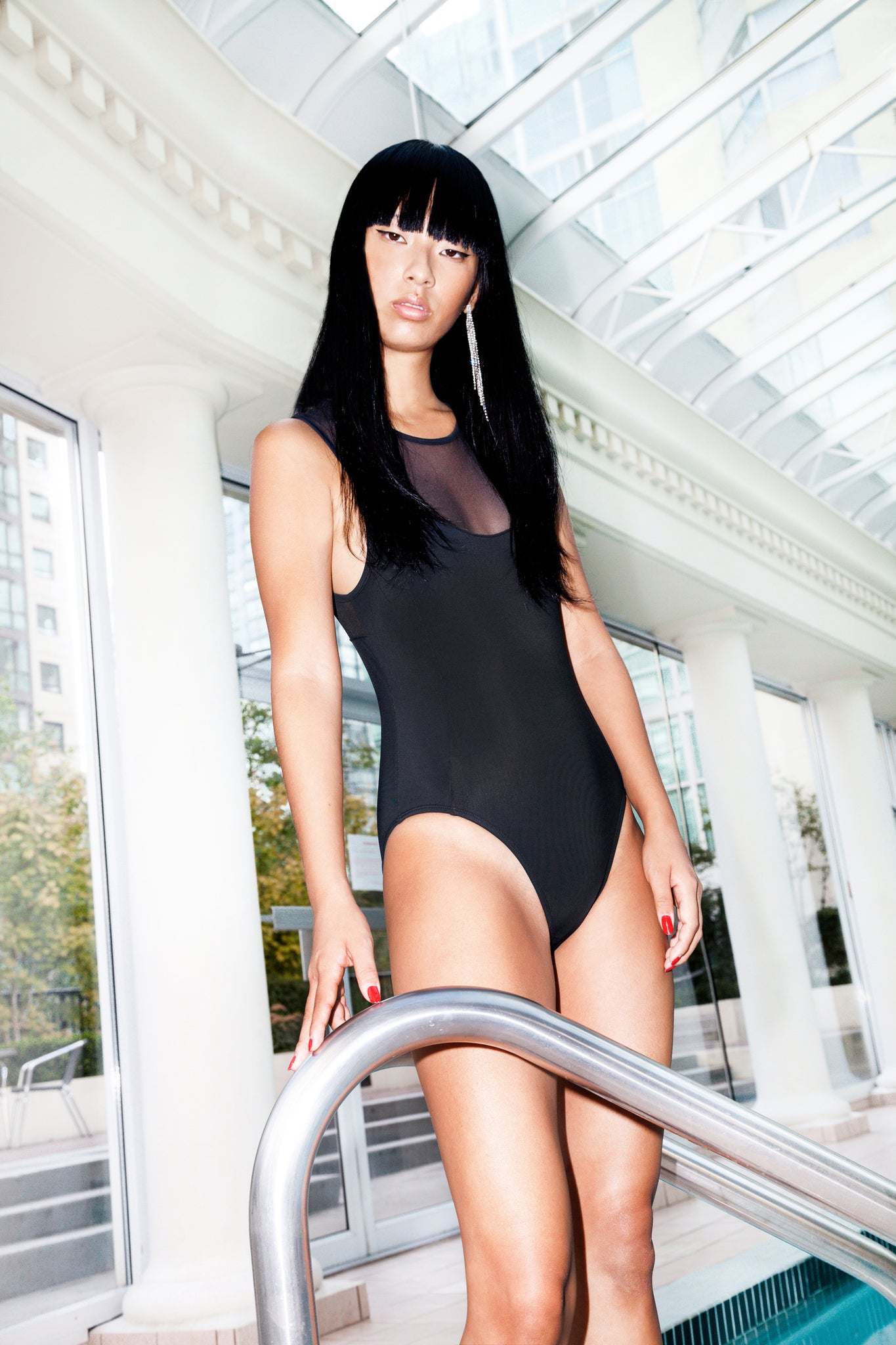 BARDOT ONE PIECE - BLACK