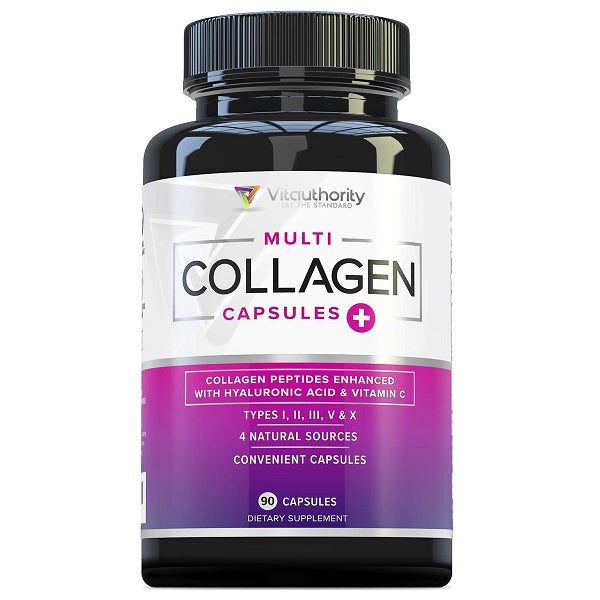 Vitauthority Multi Collagen Capsules Types I, II, III, V & X