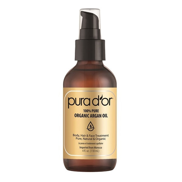 Pura D'or 100% Pure Organic Argan Oil - bodytonix