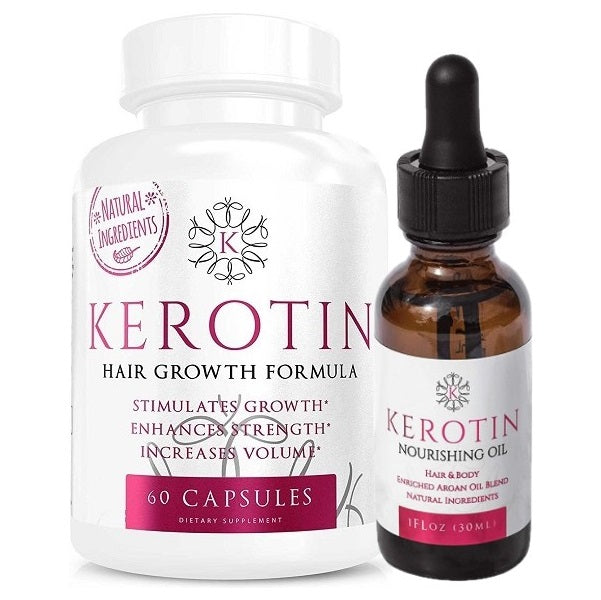 Kerotin Hair Growth Combo - bodytonix