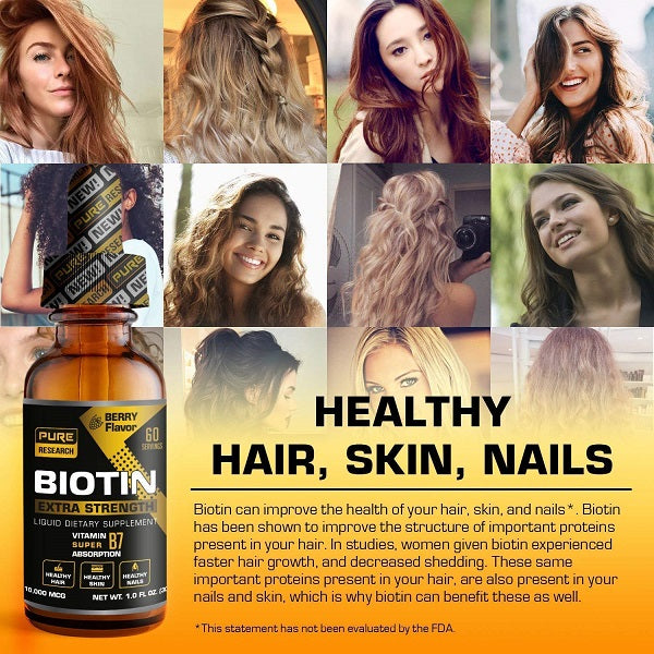 Biotin Liquid Drops - bodytonix