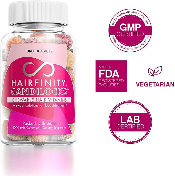 Hairfinity Candilocks Chewable Hair Vitamins - bodytonix